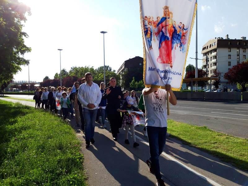 Procesija i proslava Marije Pomoćnice u Zagrebu